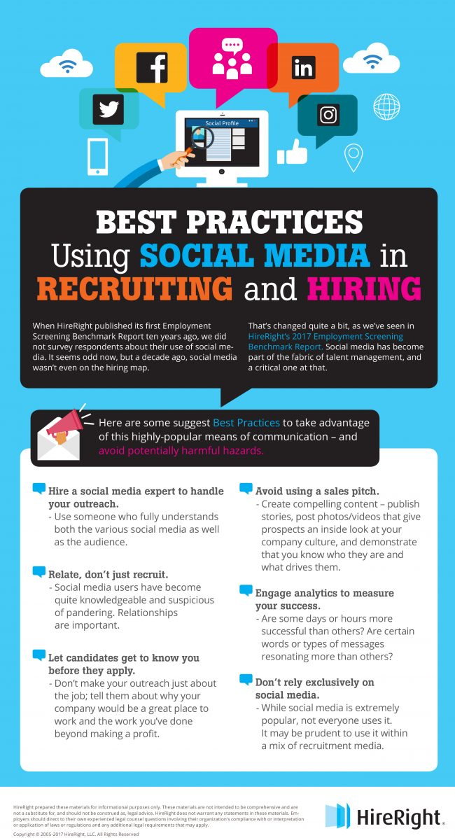 using social media to recruit a