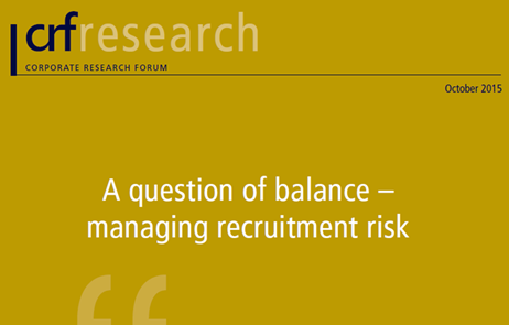 A Question of Balance - Managing Recruitment Risk