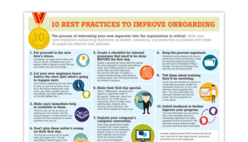 10 Best Practices to Improve New Employee Onboarding