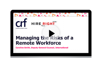 Managing the Risks of Remote Working - HireRight Masterclass