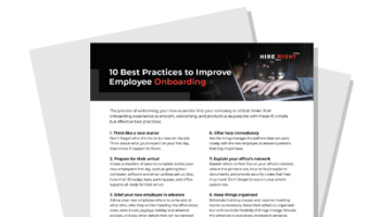 10 Best Practices To Improve Employee Onboarding