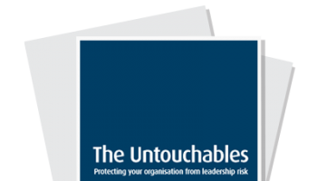 Learn how to protect your organisation from leadership risk