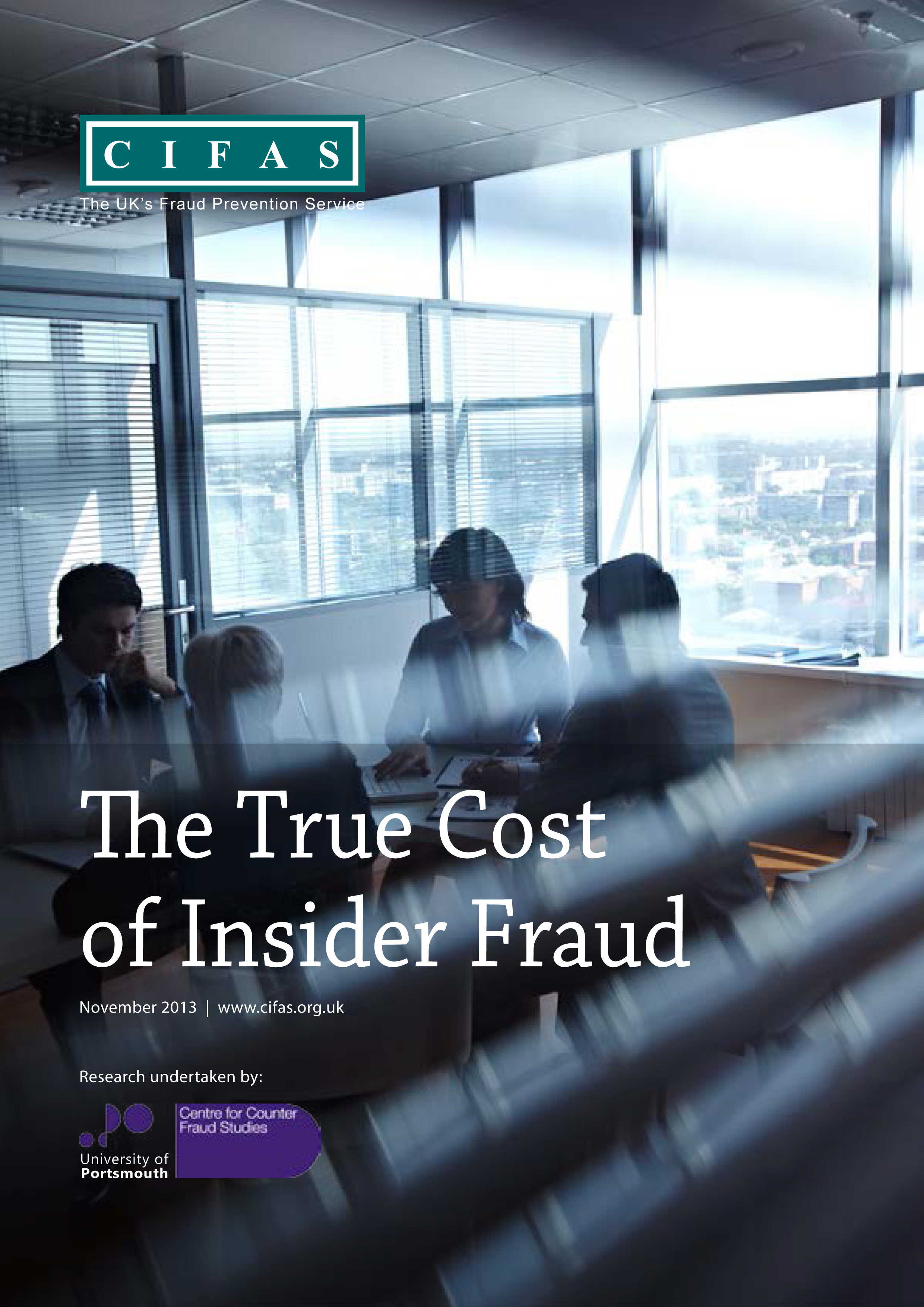 CIFAS cost of internal fraud report