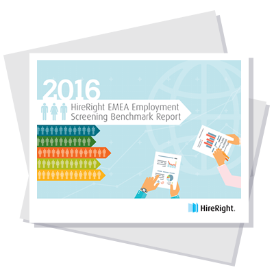 2016 HireRight EMEA Employment Screening Benchmark Report