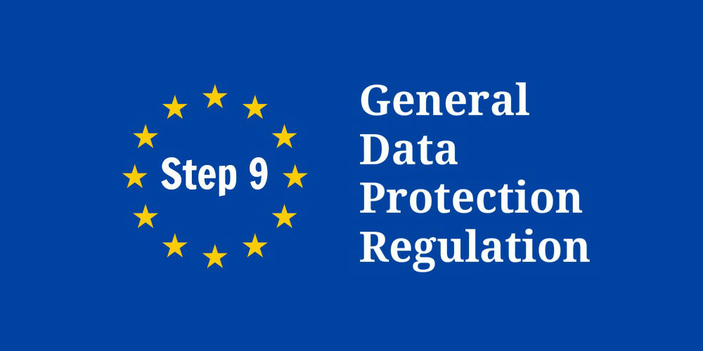 GDPR Compliance Step 9 - Technical and Security Measures