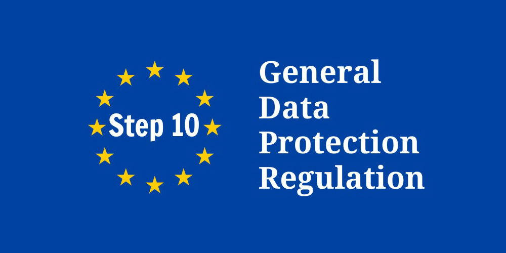 GDPR_step 10 - data processing agreements