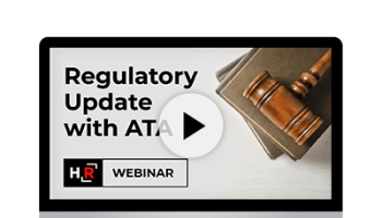 Webinar: Regulatory Update with ATA